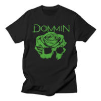 St. Patrick's Day Green Rose Skull Dommin Shirts